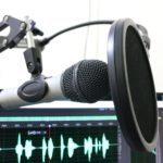 microfone podcast